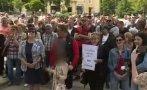жители самораново излязоха пореден протест заради проблеми водопровода селото