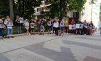 пловдив протестираха искане справедлив процес смъртта две момчета катастрофа