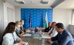 борисов срещна представителите оссе изборите