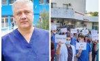 ИЗВЪНРЕДНО В ПИК TV! Медици и граждани на протест в защита на уволнения шеф на