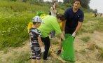 екоактивисти доброволци чистиха брега река дунав лом
