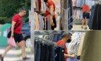 уникални кадри пик премиерът слави шорти пазарува ризки турски преоценени стоки
