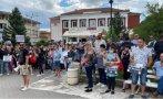 БУНТ И В ТЪРНОВО: Стотици излязоха на протест срещу кабинета на Радев