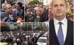 ЕКШЪН В ПИК TV! Хиляди на мощен протест срещу кабинета на Румен Радев - гонят Тошко Йорданов и Мая Манолова от площада (ВИДЕО/СНИМКИ)