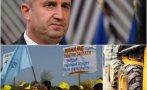 НАПРЕЖЕНИЕТО РАСТЕ: Хиляди работници и тежка техника блокират утре София заради Радев и служебното му правителство