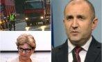 БУНТ СРЕЩУ РАДЕВ И КАБИНЕТА МУ: Тежка техника блокира центъра на София - пътищари искат оставката на регионалната министърка на президента (НА ЖИВО/ОБНОВЕНА/СНИМКИ)