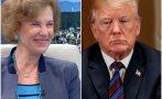 Осъдената за кражба на кремчета Елена Поптодорова вини Тръмп за щурма в Капитолия