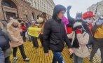 Протестът на ресторантьорите блокира